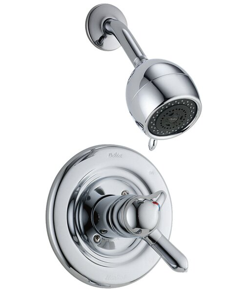 Other Core Volume Control Shower Faucet with Lever Handle and H2okinetic Technology by Delta
