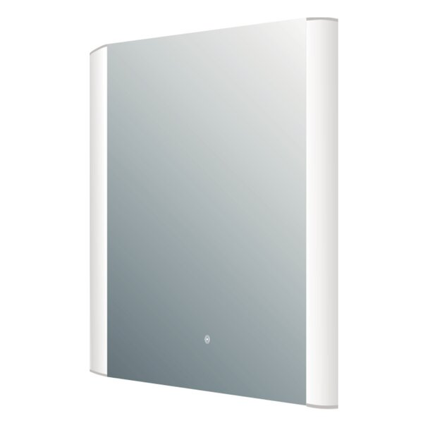 LED Rectangle Accent Wall Mirror by Rebrilliant