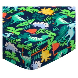 Affordable Blythe Dinosaurs 3 Piece Crib Bedding Set ByZoomie Kids