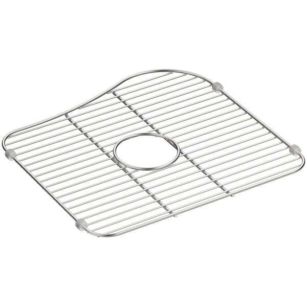 Staccato Stainless Steel Large Sink Rack by Kohler