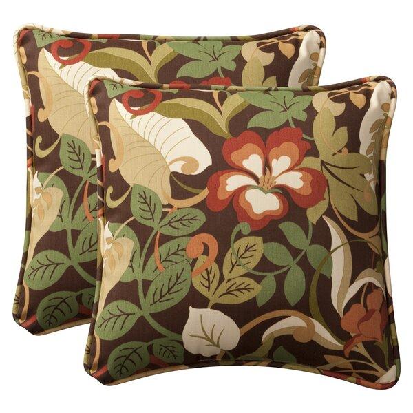 Alsip Indoor/Outdoor Throw Pillow (Set of 2)