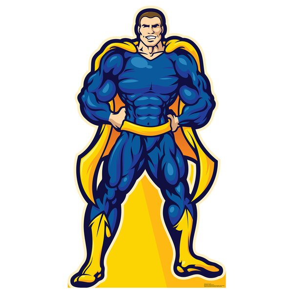 Superhero Life Size Cardboard Cutout Standup by Advanced Graphics