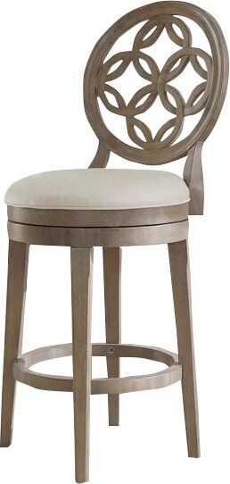 Mousseau 30 Swivel Bar Stool by One Allium Way
