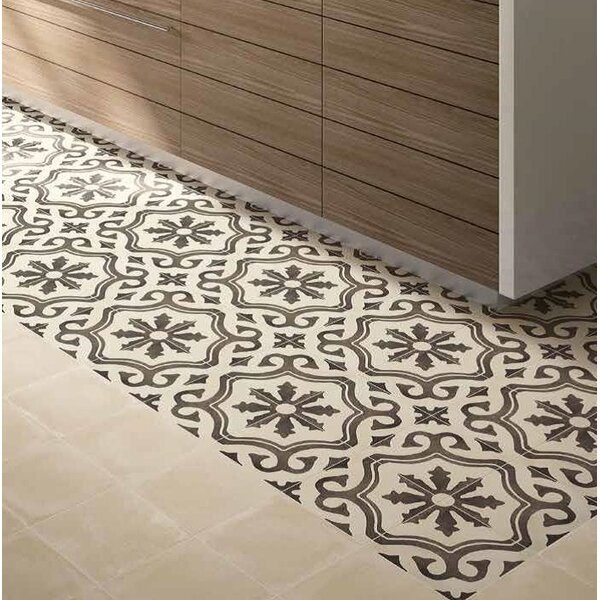 Design Evo 8 x 8 Porcelain Field Tile in Beige/Brown by Travis Tile Sales