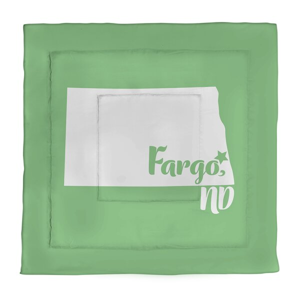 Dakota Fargo North Single Reversible Comforter
