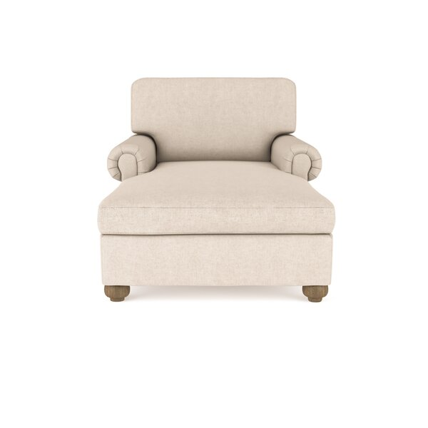 Austin  Velvet Chaise Lounge By Canora Grey