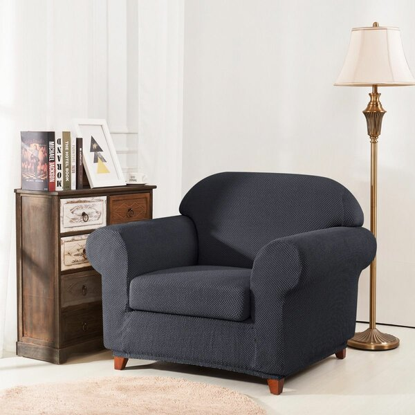 Raised Dots Box Cushion Armchair Slipcover by Winston Porter
