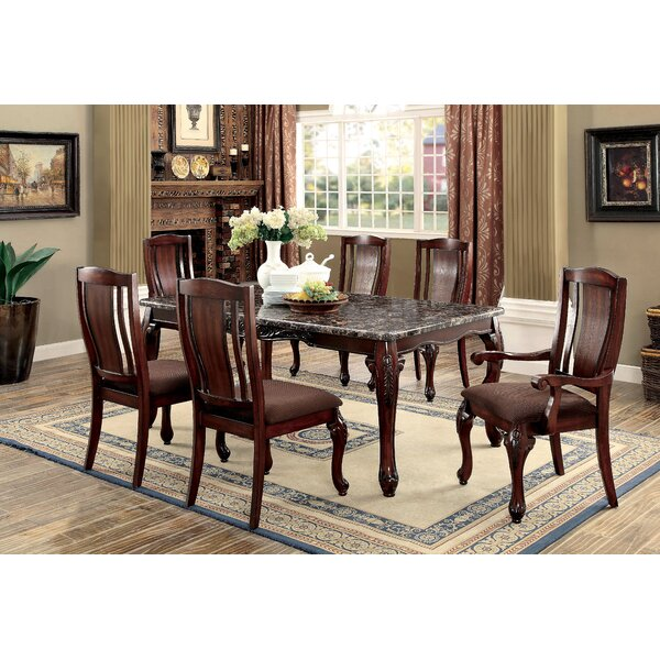 Dominey 7 Piece Dining Set by Astoria Grand