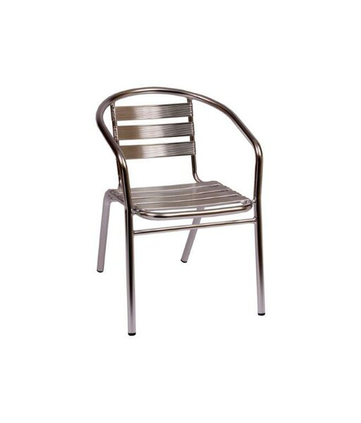 Parma Stacking Patio Dining Chair by BFM Seating