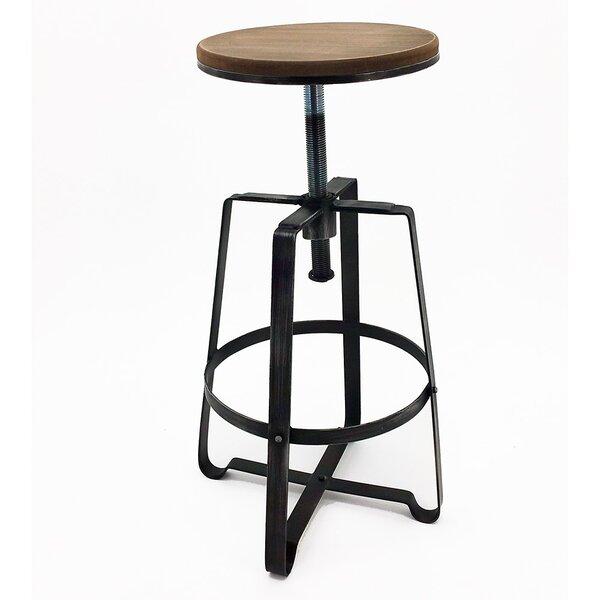 Turner Adjustable Height Bar Stool (Set of 4) by Vandue Corporation