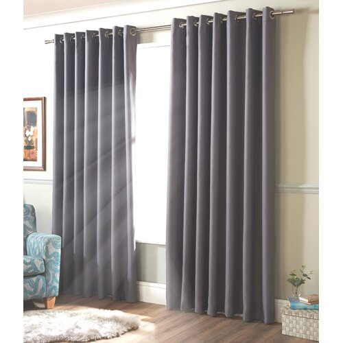 Strome Eyelet Blackout Thermal Curtains Marlow Home Co. Colo