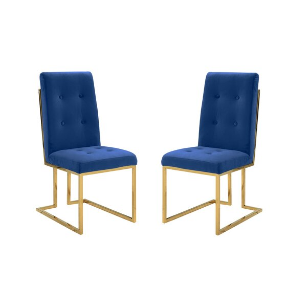 Humphreys Upholstered Dining Chair (Set of 2) by Mercer41