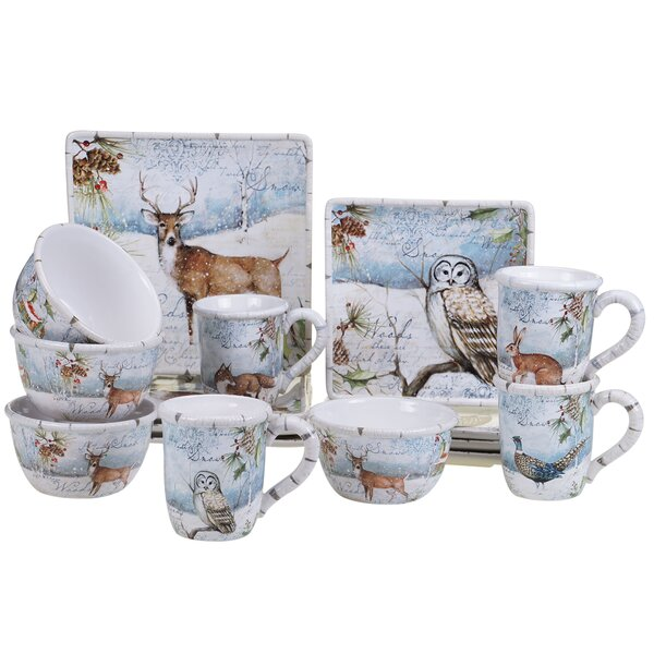 Anya 16 Piece Dinnerware Set, Service for 4 by The Holiday Aisle