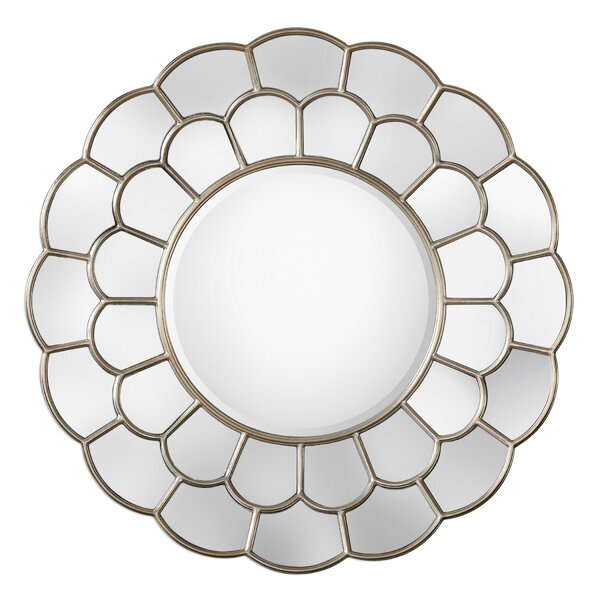 Round Wall Mirror by Darby Home Co