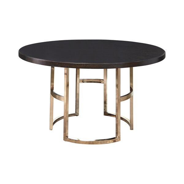 Oakledge Dining Table by Everly Quinn Everly Quinn