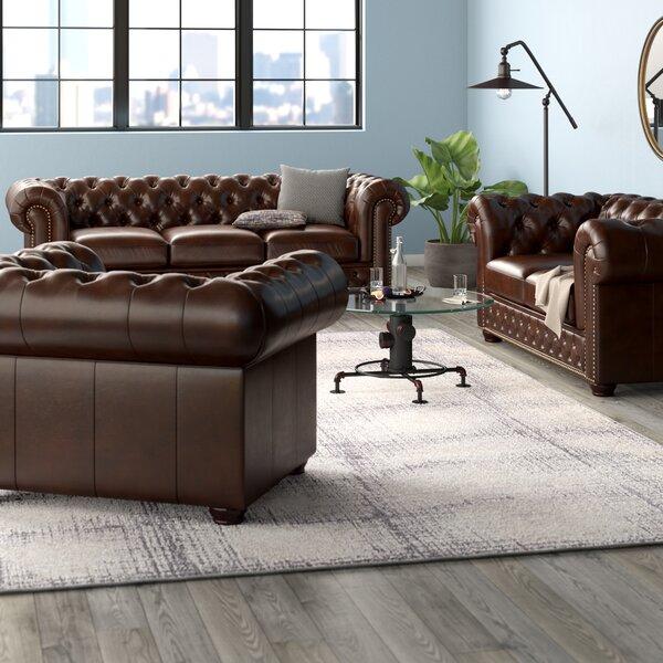 Worcester 3 Piece Living Room Set by Trent Austin Design