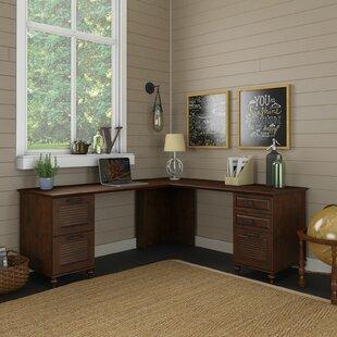 Volcano Dusk L-Shape Executive Desk