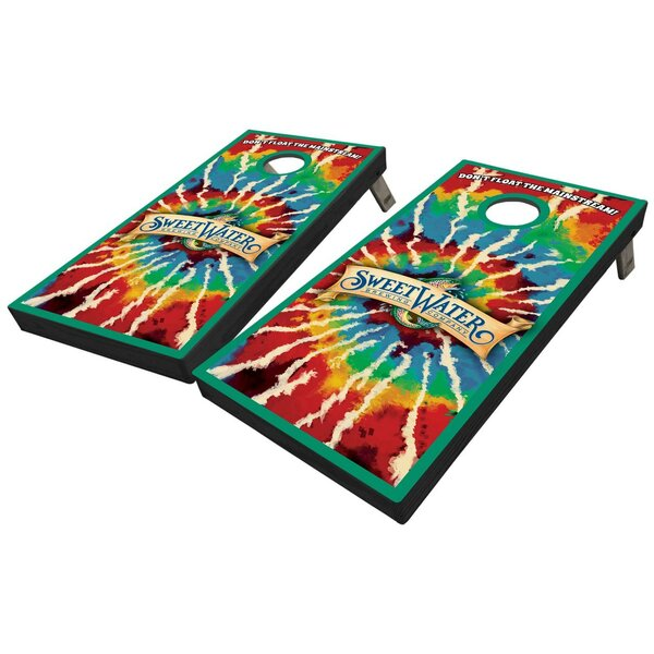 SweetWater Tie Dye 10 Piece Cornhole Set by West Georgia Cornhole