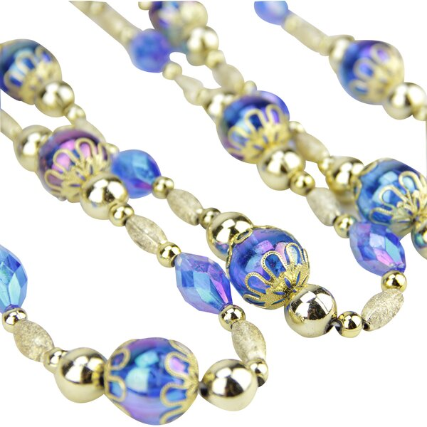 Iridescent Esquire Bead Garland by Northlight Seasonal