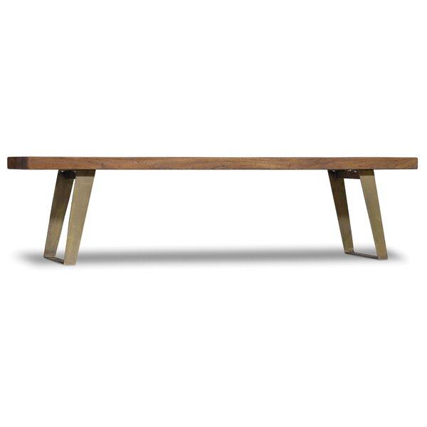 Transcend Wood Bench by Hooker Furniture