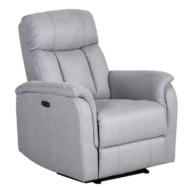 Maybee Microfiber Manual Rocker Recliner W003250922