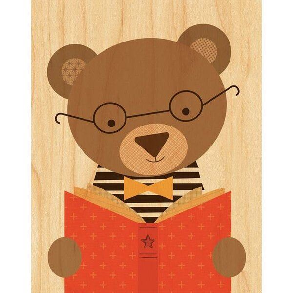 Story Bear Decorative Plaque by Petit Collage