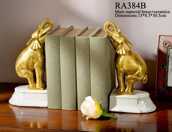 Elephant Bookend (Set of 2) by Westmen Lights