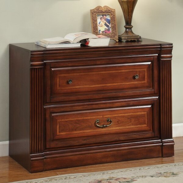Brian Library 2 Drawer Chest by Astoria Grand