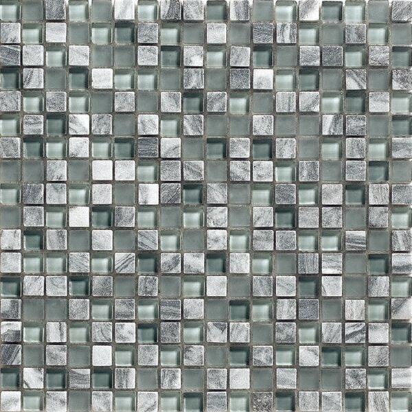 12 x 12 Glass Stone Mosaic Tile by Kellani