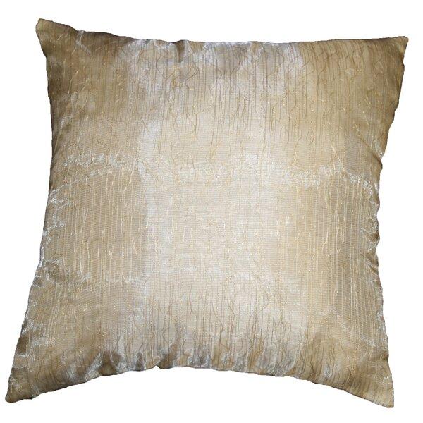 Eden Lace Tafetta Nittle Mesh Cover Pillow by Violet Linen