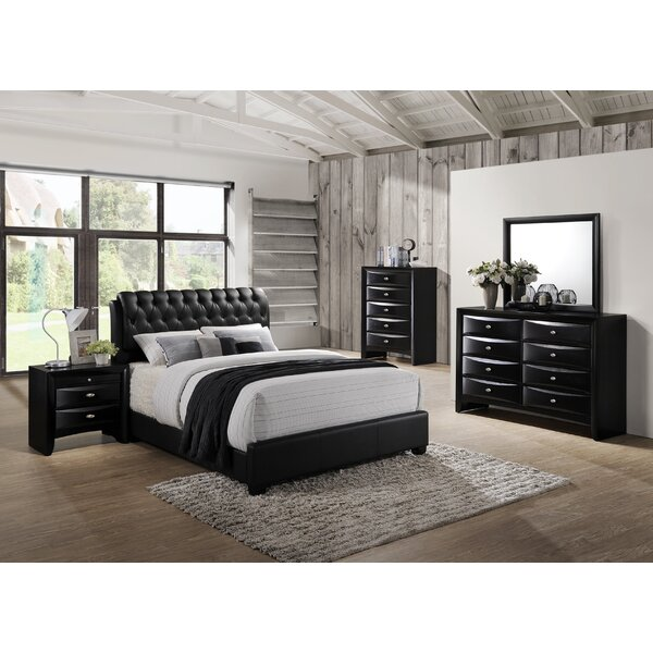 Blemerey 5 Piece Bedroom Set by Roundhill Furniture