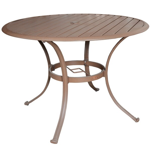 Island Breeze Aluminum Dining Table by Panama Jack Outdoor