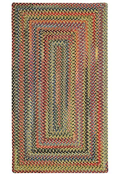 Sahale Yellow Striped Area Rug by Loon Peak