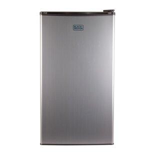 3.2 cu. ft. Compact Refrigerator with Freezer ByBlack + Decker