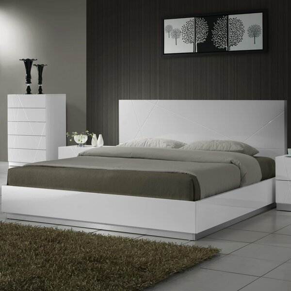Manz Platform Bed by Orren Ellis