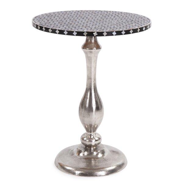 Latif Pedestal End Table By Orren Ellis