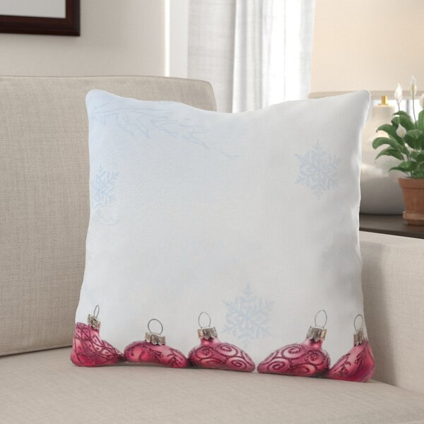 Wendell Red Indoor/Outdoor Canvas Throw Pillow