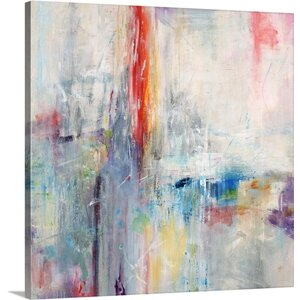'Light Crackels' by Jodi Maas Painting Print on Canvas by Great Big Canvas
