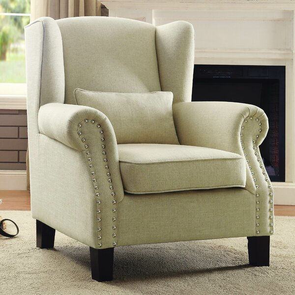Woodstock Wingback Chair by Darby Home Co