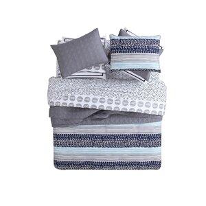 Fractal Reversible Comforter Set
