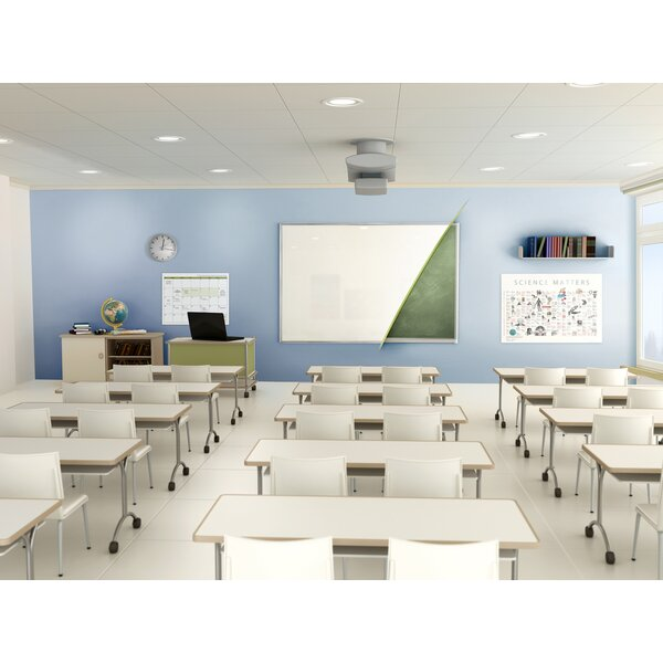 Ghent Renewal Magnetic Porcelain Whiteboard by Ghent