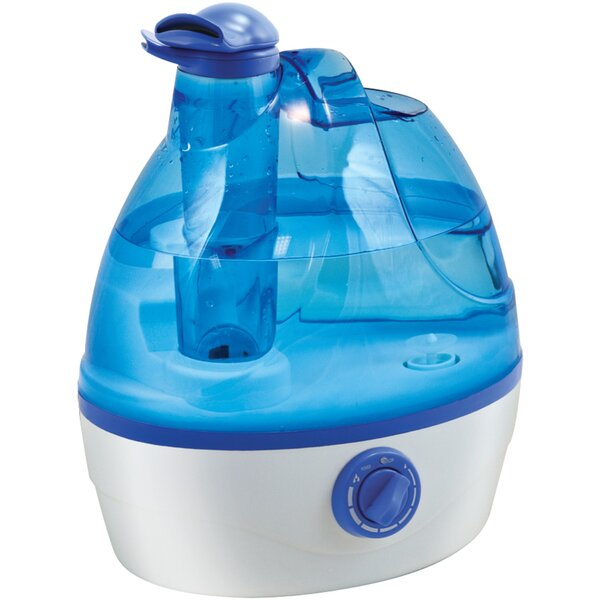 0.6 Gal. Cool Mist Ultrasonic Tabletop Humidifier by Comfort Zone