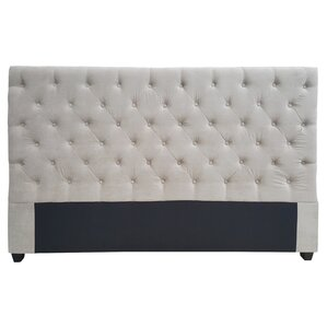 Gaskell Decorative Glam Upholstered Panel Headboard by Alcott Hill