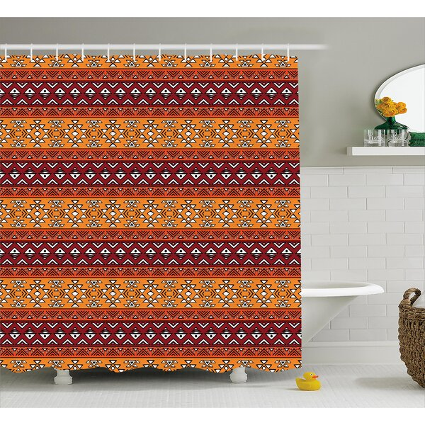 Native American Decor Shower Curtain by East Urban Home
