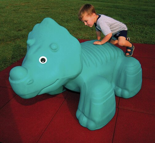 Triceratops Playground Sculpture by Little Tikes Commercial