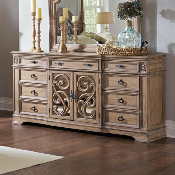 Antonie 9 Drawer Combo Dresser by August Grove