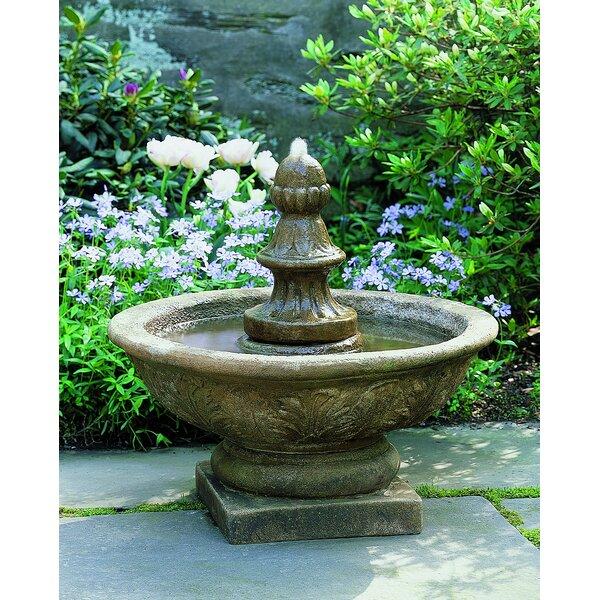 Concrete Bordine Fountain by Campania International