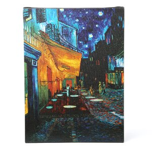 Cafe Terrace by Vincent Van Gogh Painting Print on Wrapped Canvas by Trademark Fine Art