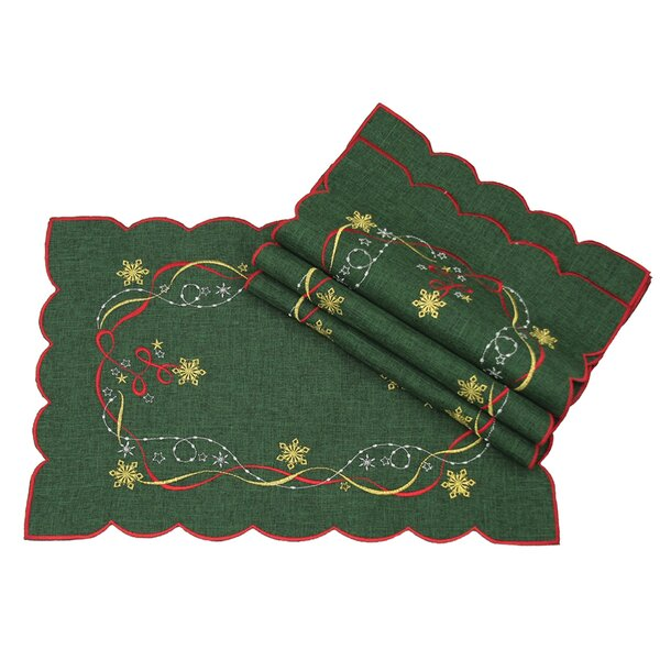 Magical Christmas Placemat (Set of 4) by The Holiday Aisle