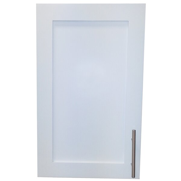Cumberland 14 x 24  Wall Mounted Cabinet by WG Wood Products